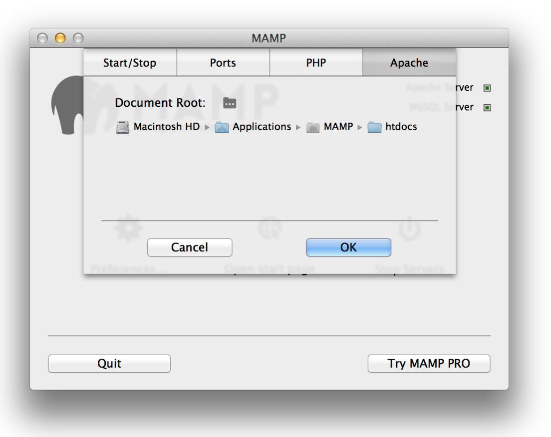 mamp-document-root